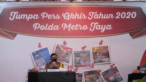 Ini Capaian Kinerja Polda Metro Jaya Sepanjang 2020