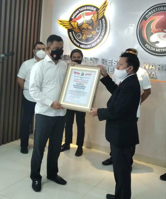 Sita 2 Ton Sabu & Selamatkan Jutaan Warga, LEMKAPI Apresiasi Dit Narkoba PMJ