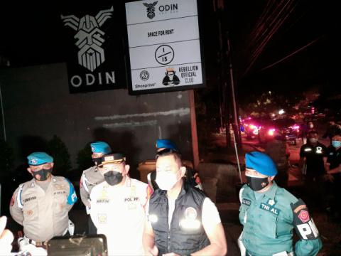 Ditresnarkoba Polda Metro Giatkan Operasi Prokes, Boca Rica dan Odin Langsung Disegel