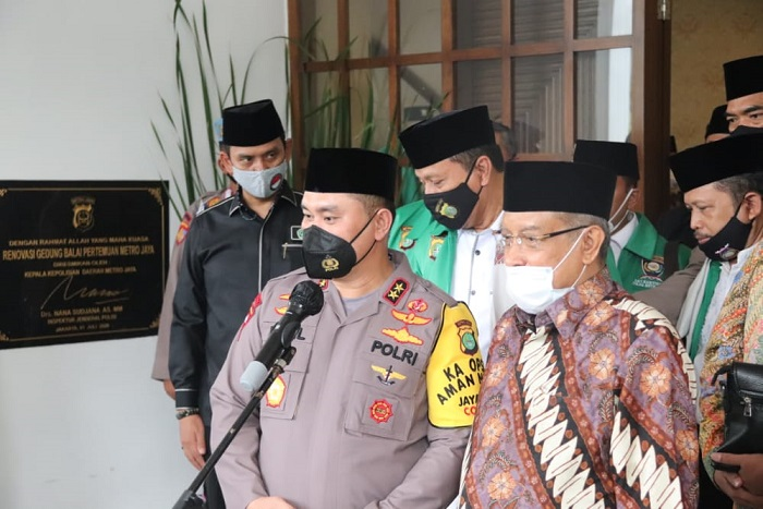 Kapolda Metro Kukuhkan Dai Kamtibmas Pembawa Pesan Damai