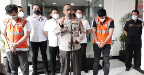 Selebgram AK Diamankan Dit Resnarkoba Polda Metro Kasus Sabu