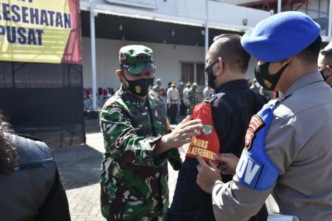 Cegah Covid-19, Forkopimda Jakpus Bentuk Relawan RT Pengawas Prokes