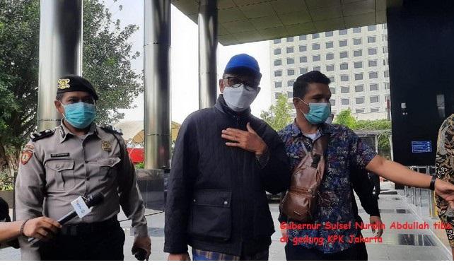 Sedang Tidur Gubernur Sulsel Ditangkap KPK