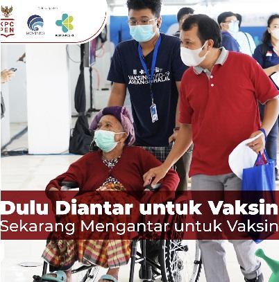 SVS Bantu Capai Target Vaksinasi, Total Positif 1.460.184 Sembuh 1.290.790 Meninggal 39.550