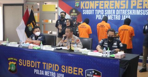 Subdit Siber Polda Metro Bongkar Penipuan Penerimaan Karyawan BNI