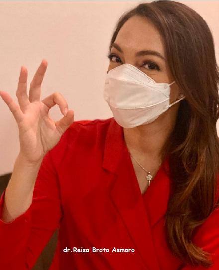 ' 3 Sebelum 3 ' Tips Siap Vaksin dr Reisa, Total Positif 1.482.559 Sembuh 1.317.199 Meninggal 40.081