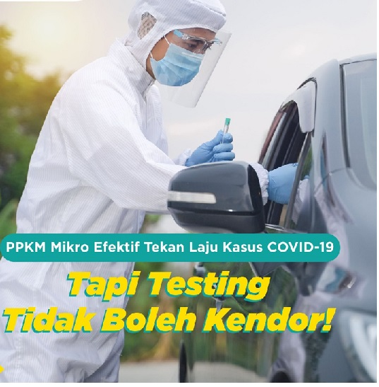 Vaksin-PPKM-3T & 3M Efektif Cegah Covid,Total Positif 1.392.949 Sembuh 1.210.877 Meninggal 37.757