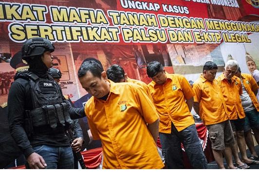 Polda Limpahkan Berkas Kasus Mafia Tanah Milik Ibu Mantan Wamenlu