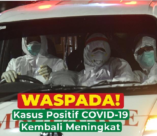 Upaya Pemerintah Hadapi Amuk Covid,Positif 1.963.266 Sembuh 1.779.127 Meninggal 54.043