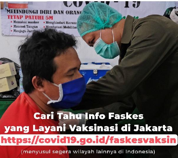 Kemungkinan 2,3 Juta Orang Terpapar di Jakarta,Positif 2.417.788 Sembuh 1.994.573 Meninggal 63.760