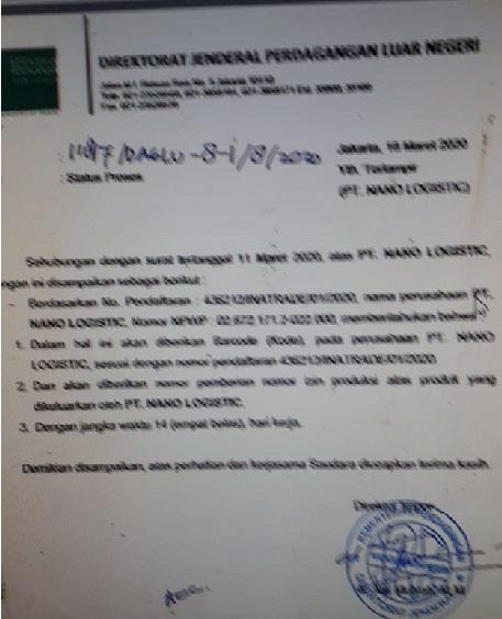 Soal izin Impor Minol Palsu, Notaris Perempuan Menghindar Tanggungjawab