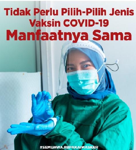 Pandemi Semakin Membaik, Positif 4.079.267 Sembuh 3.743.716 Meninggal 132.491