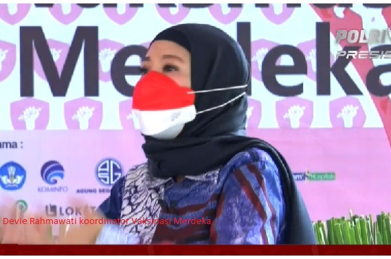 Vaksin Merdeka Pahlawan Bebaskan Indonesia dari Pandemi Covid-19