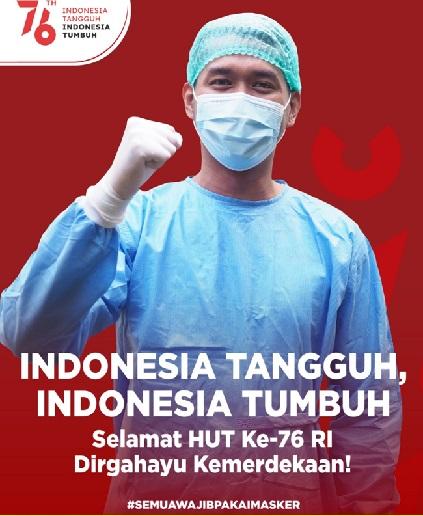 Penanganan Pandemi Tak Mungkin Tanpa Bantuan,Positif 3.979.456 Sembuh 3.546.324 Meninggal 126.372