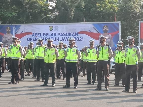 Polda Metro Gelar Operasi Patuh Jaya Hingga 3 Oktober 2021