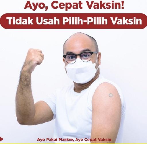 2,5 Juta Warga Pemilik KTP DKI Belum Vaksin,Positif 4.170.088 Sembuh 3.931.227 Meninggal 139.165