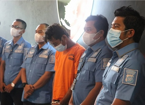 Setelah Buron, Perampok Uang Perusahaan Ekspedisi Ditangkap di Lampung