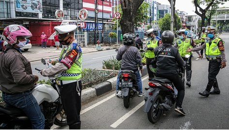 Operasi Patuh Jaya 2021, Ribuan Kendaraan Gunakan Knalpot Bising Ditindak