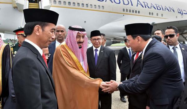 Di Twitter, Ahok Unggah Foto Bersalaman dengan Raja Salman