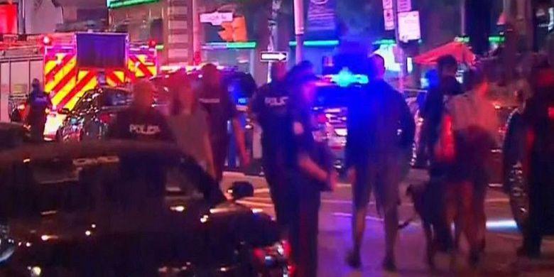 Insiden Penembakan di Kanada, 2 Polisi Gugur