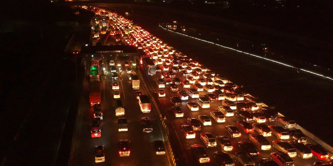 Mudik Lebaran, Korban Meninggal di Jalan Turun 59%