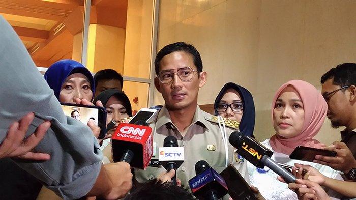 Wagub Sandi Kembali Dilaporkan ke Polisi
