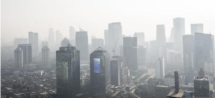 Jakarta Peringkat 4 Kualitas Udara Terburuk Dunia