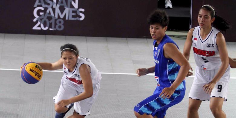 Asian Games: Serangan Tim Basket Putri Dipacu
