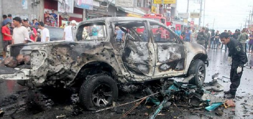 Bom Mobil Meledak di Filipina, 11 Orang Tewas
