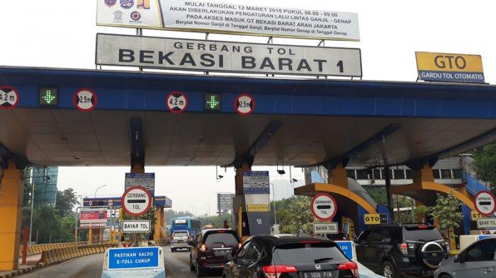 Ingat, Sistem Ganjil Genap Mulai Berlaku Senin di Tol Bekasi