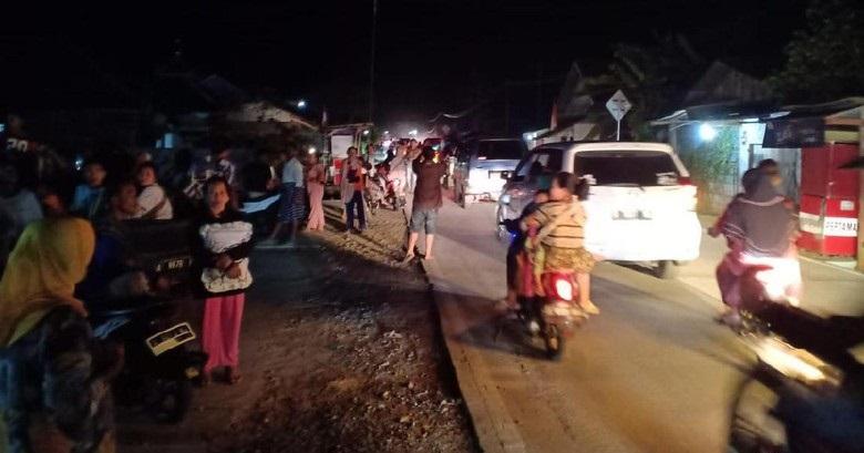 Gempa Banten: 1 Tewas, 1.050 Jiwa Mengungsi, 113 Rumah Rusak