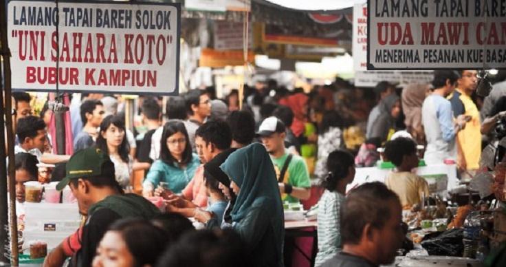 Gila, Sewa Lapak Bazar Ramadhan di Benhil Rp3 Juta/bulan