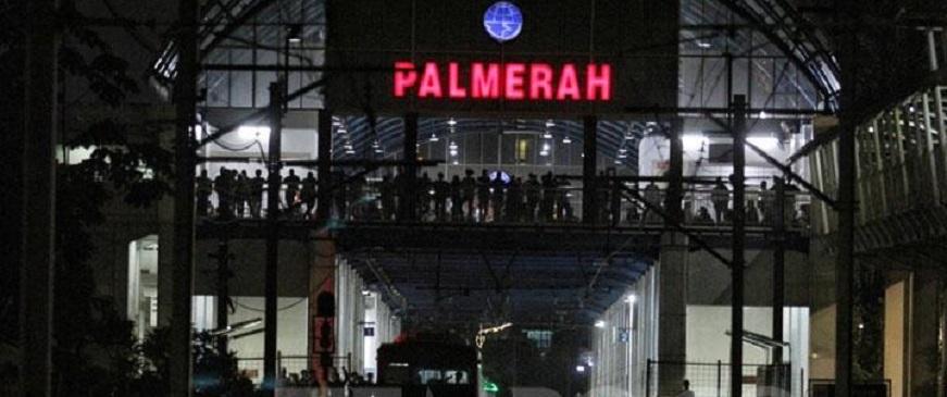 Pelantikan Presiden, Stasiun Palmerah Tak Layani Perjalanan KRL