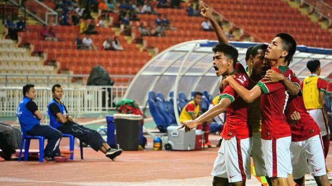 Gunduli  Laos, Timnas Indonesia Lolos Piala Asia U-16