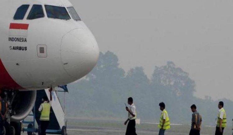 7 Pesawat Gagal Terbang di Banjarmasin Akibat Kabut Asap