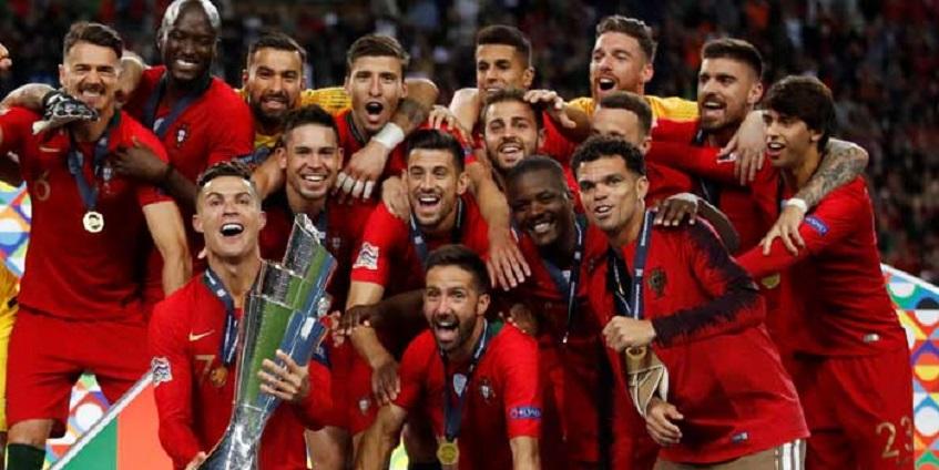 UEFA Nations Lague: Tekuk Belanda Portugal Juara