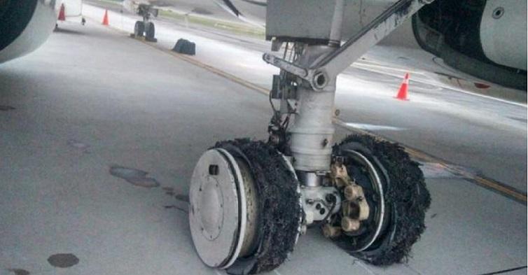 Ban Garuda Pecah Saat Landing di Bandara Kualanamu