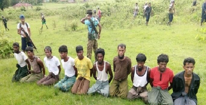 10 Pria Muslim Rohingya Dieksekusi Mati, 7 Tentara Dipenjara