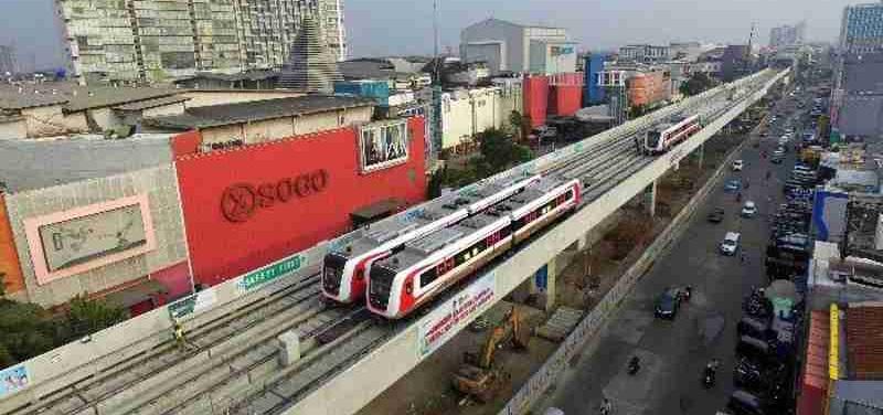 Asian Games 2018 Tak Dipakai, Kapan LRT Jakarta Beroperasi?