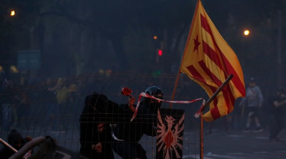 Kondisi Barcelona Semakin Mencekam