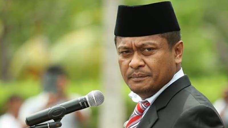 Korupsi, Bupati Buton Selatan Diterbangkan ke Jakarta
