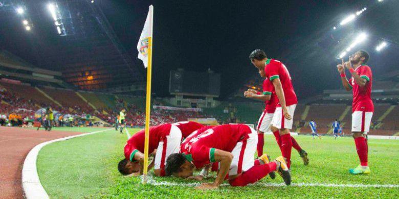 Gasak Myanmar 3-1, Indonesia Raih Perunggu