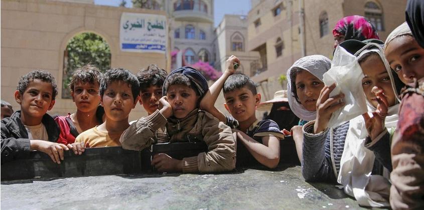 Di Tengah Perang, Kolera Renggut Nyawa 193 Anak Yaman