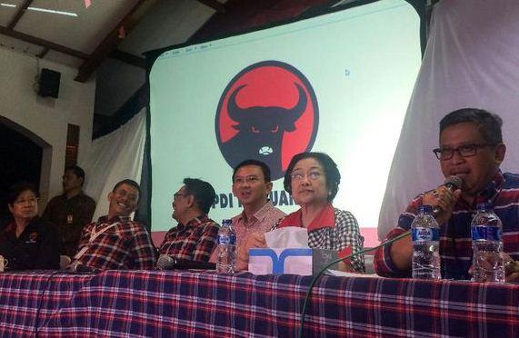 Guyonan Hasto: Ahok Ceria Menang di Petamburan