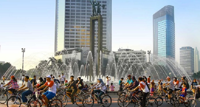 Lebaran, Car Free Day Sudirman-Thamrin Diliburkan