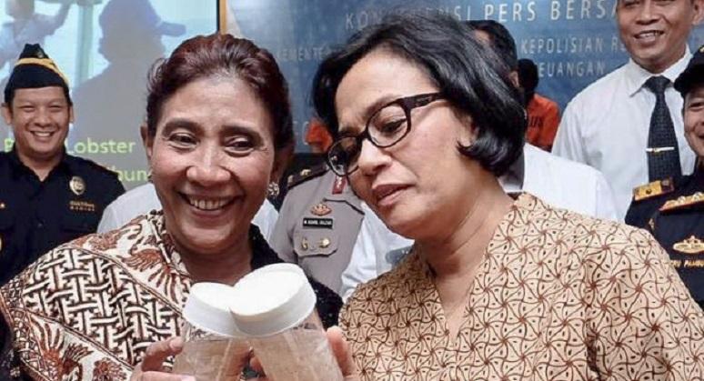 Disuguhi Air Botol Plastik, Menteri Sri & Susi Protes