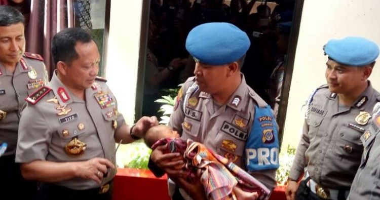 Kapolri Apresiasi Bintara Rawat 111 Anak Yatim