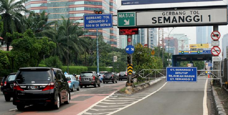 Asian Games, 19 Gerbang Tol Dalam Kota Buka Tutup