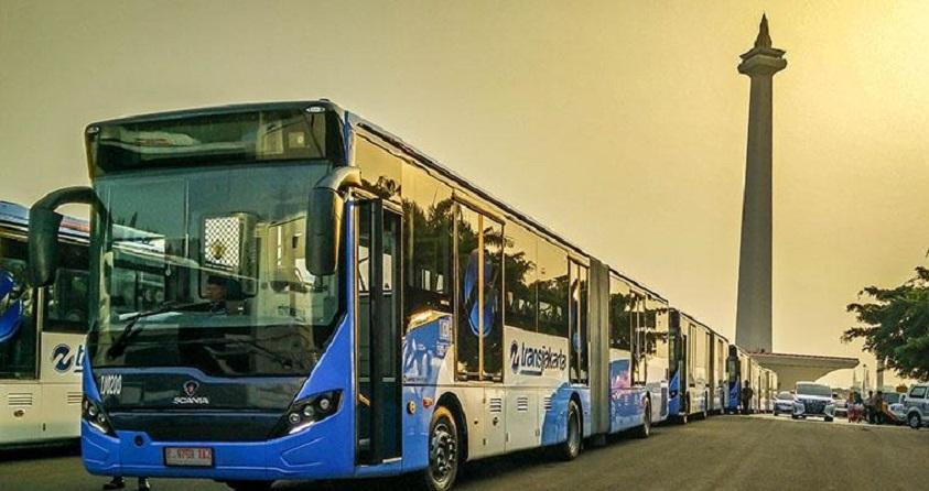 Transjakarta Kaji Biaya Operasional Bus Listrik