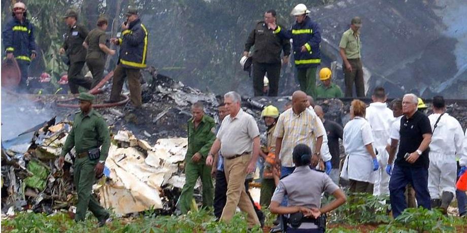 Pesawat Penumpang Jatuh di Havana, 101 Orang Tewas